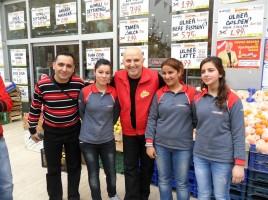 Yavuz Seçkin Gaziantep Sembol Center'e ziyaret etti.